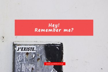 Hey! Remember me?