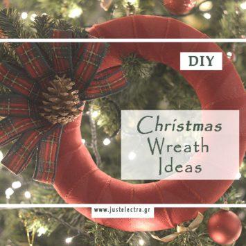 Χριστουγεννιάτικα DIY Στεφάνια
